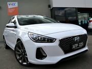 2018 Hyundai i30 PD MY18 SR D-CT Premium White 7 Speed Sports Automatic Dual Clutch Hatchback Fawkner Moreland Area Preview
