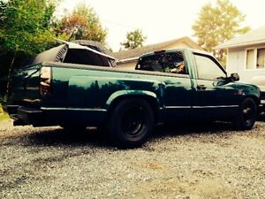 97 lowered dually toy hauler TRADE FOR OLDER PICK UP