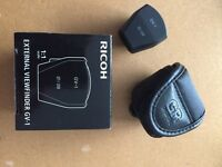 Ricoh GR GH-3 view finder mint boxed