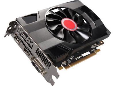 XFX Radeon RX 560 DirectX 12 RX-560P2SFG5 2GB 128-Bit DDR5 PCI Express 3.0 Cross