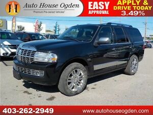 2010 LINCOLN NAVIGATOR 4X4 LEATHER ROOF DVD CALL 403 262 2949