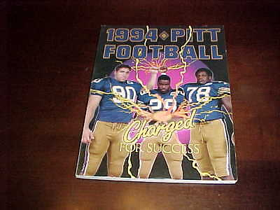 1994 Pitt Panthers Football Media Guide