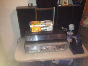 Older Antique Sterio system with lots 8tracks...
