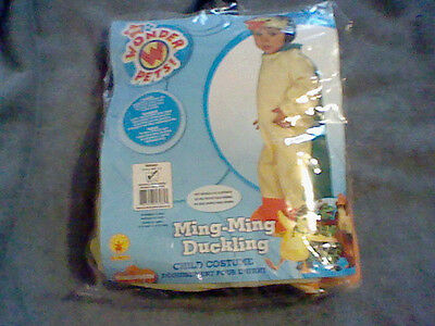 BRAND NEW INFANT SIZE 6-12 MONTH WONDER PET MING-MING DUCKLING HALLOWEEN COSTUME