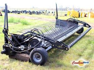 2002 Rake-Up 16' Pickup (Hyd. Windguard, Good Condition)