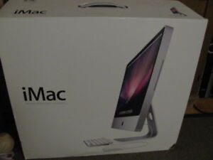 iMac 24 2.93ghz cpu, 500gb, 8gb ddr3 ram, kb and mouse