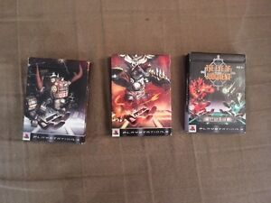 Carte de jeu Play Station / Play Sattion playing summoning cards