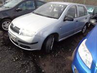 2007 Skoda Fabia 1.2 Petrol MOT'd 1 year £995