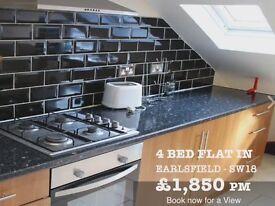 3/4 bedroom flat