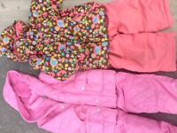 Snowsuits for girl-size 3/4 years