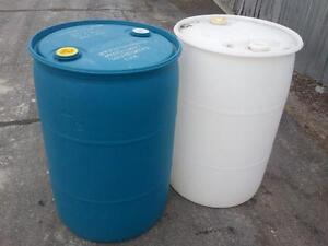 Plastic Barrels 4 For $70