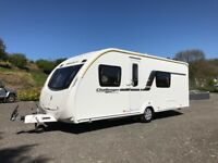 4, 5 and 6 Berth Touring Caravans for Hire for Breaks/Holidays/Events/Festivals