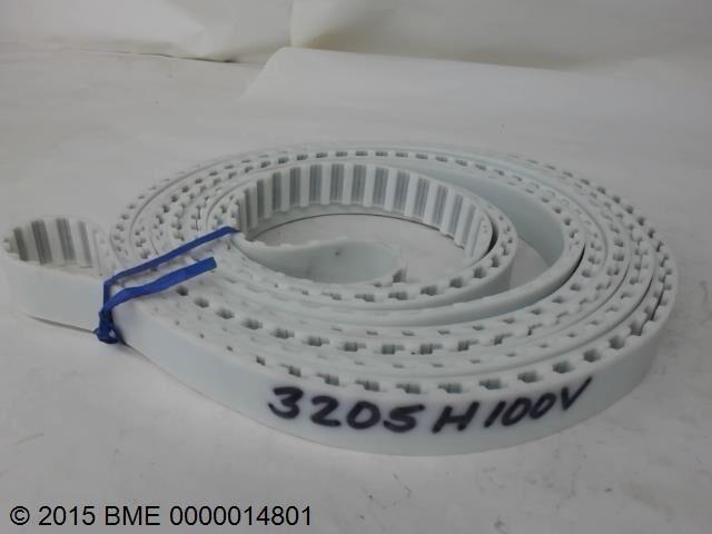 Timing Belt  - White -   3205H100V  -  New