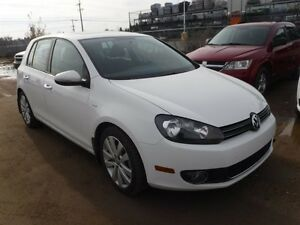 2013 Volkswagen Golf Wolfsburg Edition, Bluetooth, sunroof, allo