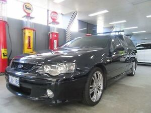2003 Ford Falcon BA XR6 Black 4 Speed Auto Seq Sportshift Utility Fyshwick South Canberra Preview
