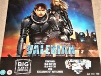 Valerian 3D and 2D Blu Ray and Dvd Big Sleeve Edition Sealed