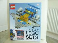 Great Lego Sets A Visual History Inc Micro Space Cruiser Age 7+ Brand New Unopened