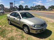 2002 Nissan Pulsar N16 LX Gold 4 Speed Automatic Sedan Wangara Wanneroo Area Preview