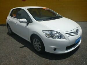 2011 Toyota Corolla ZRE152R MY11 Ascent White 4 Speed Automatic Sedan Winnellie Darwin City Preview