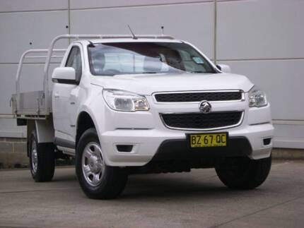 Holden Colorado RG 4x2 cab Chassis