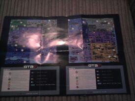 Grand Theft Auto GTA2 Poster Map