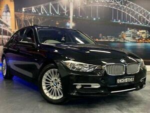 2012 BMW 320d F30 320d Black 8 Speed Sports Automatic Sedan Prospect Blacktown Area Preview