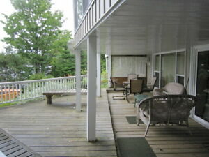 Trout Lake Waterfront One Bedroom plus Den