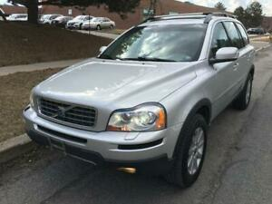 2008 VOLVO XC90, 7 SEATER, LEATHER, CERTIFIED