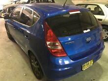 2010 Hyundai i30 FD MY10 SLX Blue 5 Speed Manual Hatchback Macquarie Hills Lake Macquarie Area Preview