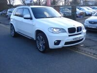 BMW X5 3.0 30d M Sport xDrive 5dr 2010 model, FSH, Long MOT, Clean example, View by appointment only