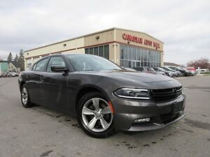 2015 Dodge Charger SXT, ALLOYS, A/C, LOADED, 60K!