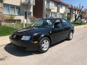 2000 vw JETTA- manuel-  88 000km- COMME NEUF-  2800$  IMPECABLE