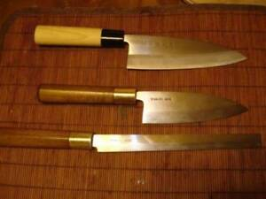 Good quality used kitchen knives
