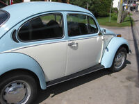 volswagen beetle 1973