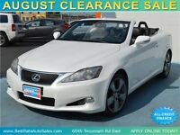 2010 Lexus IS 250C Convertible with LEATHER, LOADED