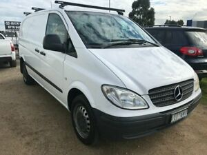 2007 Mercedes-Benz Vito TDI 6 Speed Manual Van Carrum Downs Frankston Area Preview