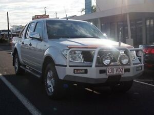2006 Nissan Navara D40 ST-X Silver 6 Speed Manual Utility Westcourt Cairns City Preview