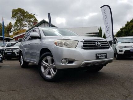 2009 Toyota Kluger GSU40R Grande (FWD) Silver 5 Speed Automatic Wagon Mount Hawthorn Vincent Area Preview