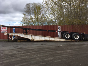 40' container chassis - tandem axle