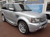 Land Rover Range Rover Sport 3.6TD V8 auto 2007 HSE S/H Finance Available P/X