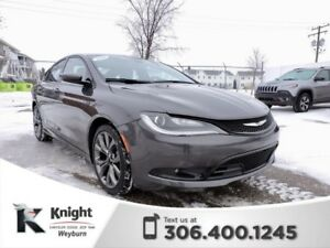2016 Chrysler 200 S NAV Heated Leather Remote Start Back-Up Cam
