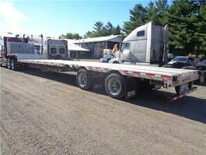 2012 LODE KING 53 TANDEM COMBO STEP DECK, SLIDING SPREAD AXLE