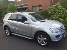 STUNNING MERCEDES ML 320 CDI SPORT 7G-TRONIC,4 MATIC,MERCEDES F.S.H WITH STAMPS,PX/OFFERS WELCOME!!!