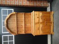 Antique Pine Welsh Dresser (Ducal)