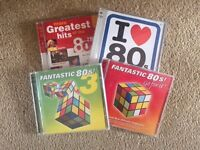 Collection of 80's compilation CD's