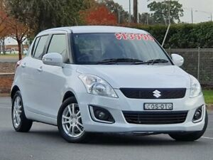 2014 Suzuki Swift FZ MY14 GL White 4 Speed Automatic Hatchback Wodonga Wodonga Area Preview