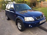 2000 Honda CR-V ES 4x4 12 months mot cheap reliable 4x4