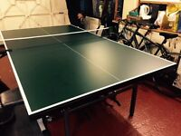 Ofiicial full size table tennis table, Academy Knight 19 indoor table, perfect condition, with net
