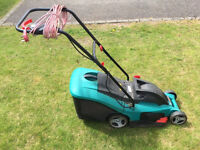Bosch Rotak 34 Electric Lawn Mower
