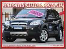 2009 Holden Captiva CG MY10 LX (4x4) Black 5 Speed Automatic Wagon Homebush Strathfield Area Preview